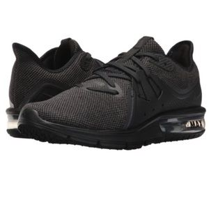 Nike Air Mac Sequent 3 Women's Running Shoe Black